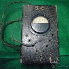 Radios antiguas: ELEVADOR REDUCTOR DE TENSION CERPAL. Lote 42902827