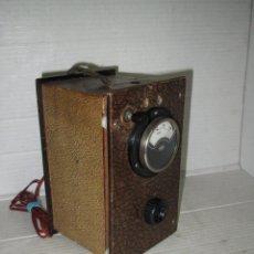 Radios antiguas: ANTIGUO ELEVADOR REDUCTOR DE RADIOS ANTIGUAS DE VALVULAS -GRAN TAMAÑO Y COMPLETO - AÑO 1940-50S.. Lote 45056109