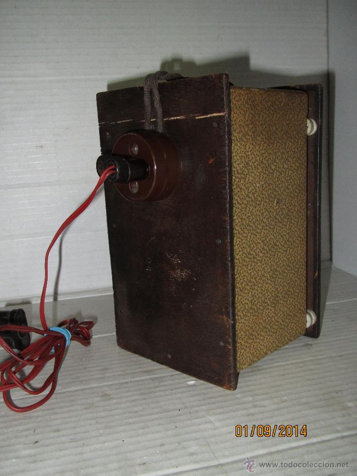 Radios antiguas: Antiguo Elevador Reductor de Radios Antiguas de Valvulas -Gran Tamaño y Completo - Año 1940-50s. - Foto 2 - 45056109