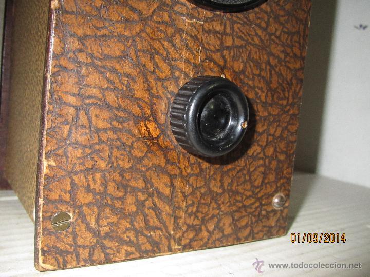 Radios antiguas: Antiguo Elevador Reductor de Radios Antiguas de Valvulas -Gran Tamaño y Completo - Año 1940-50s. - Foto 7 - 45056109