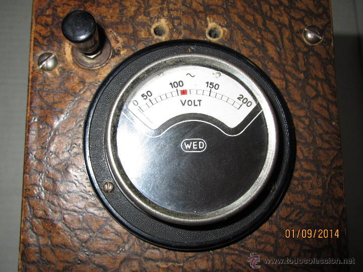 Radios antiguas: Antiguo Elevador Reductor de Radios Antiguas de Valvulas -Gran Tamaño y Completo - Año 1940-50s. - Foto 8 - 45056109