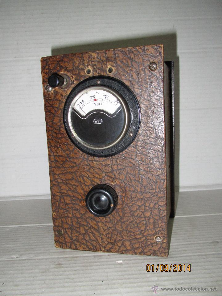 Radios antiguas: Antiguo Elevador Reductor de Radios Antiguas de Valvulas -Gran Tamaño y Completo - Año 1940-50s. - Foto 9 - 45056109