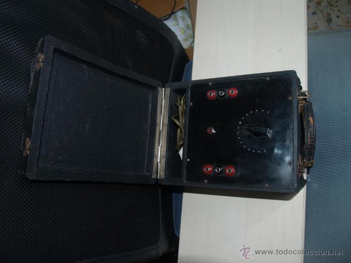Radios antiguas: ANTIGUO COMPROBADOR - Foto 7 - 45405891