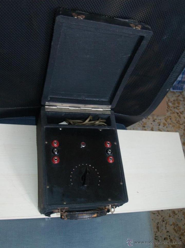 Radios antiguas: ANTIGUO COMPROBADOR - Foto 8 - 45405891