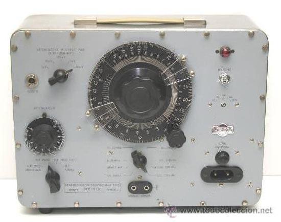 GENERADOR DE SERVICIO MOD.920C METRIX ANNECY FRANCE (Radios - Aparatos de Reparación y Comprobación de Radios)
