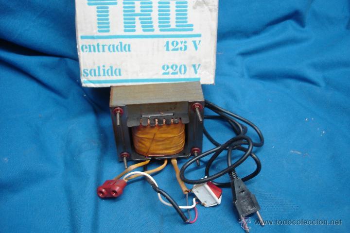- AUTO TRANSFORMADOR TRQ ENTRADA 125 V. SALIDA 220 V. SIN USO (Radios - Aparatos de Reparación y Comprobación de Radios)