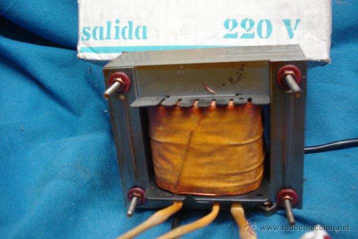 Radios antiguas: - AUTO TRANSFORMADOR TRQ ENTRADA 125 V. SALIDA 220 V. SIN USO - Foto 3 - 146160680