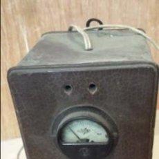Radios antiguas: ELEVADOR REDUCTOR DE WATIOS Y VOLTIOS. Lote 47381315