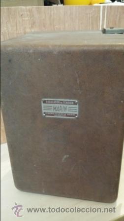 Radios antiguas: REGULADOR DE TENSION MARIN - Foto 5 - 47381385