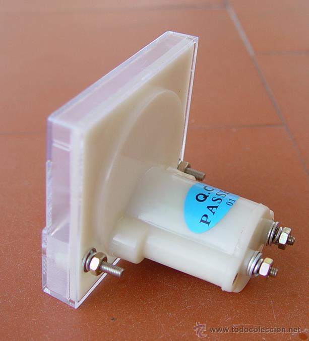 Radios antiguas: miliamperimetro medidor para comprobador de valvulas Maymo....sanna - Foto 2 - 47631376