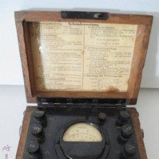 Radios antiguas: APARATO DE MEDIDA ANTIGUO. Lote 49340501