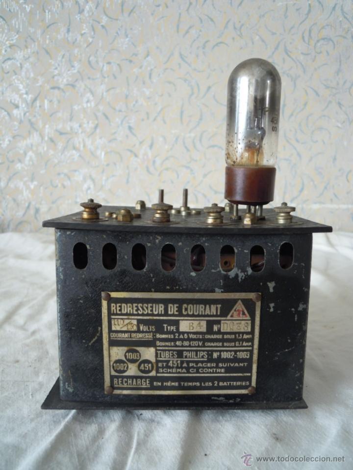 RECTIFICADOR DE CORRIENTE LAMPARAS PHILIPS REDRESSEUR DE CAURANT (Radios - Aparatos de Reparación y Comprobación de Radios)
