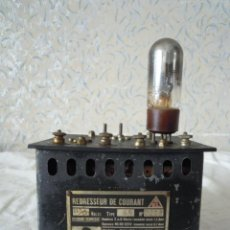 Radios antiguas: RECTIFICADOR DE CORRIENTE LAMPARAS PHILIPS REDRESSEUR DE CAURANT. Lote 51060902