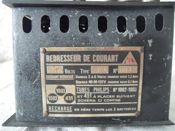 Radios antiguas: RECTIFICADOR DE CORRIENTE LAMPARAS PHILIPS REDRESSEUR DE CAURANT - Foto 3 - 51060902
