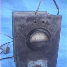 Radios antiguas: ALSAN VOLTIMETRO 12X19X12CM. Lote 51317647