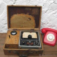 Radios antiguas: APARATO ANTIGUO GENERADOR DE SEÑALES LABORATORIOS GH U50 VALENCIA REPARACION DE RADIOS ANTIGUAS. Lote 52100095