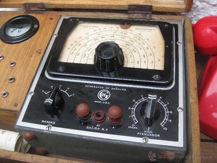 Aparato antiguo generador de se ales laborator comprar - Reparacion relojes antiguos valencia ...