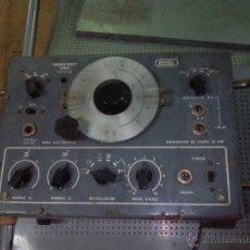 Radios antiguas: GENERADOR DE SEÑALES. Lote 52895915