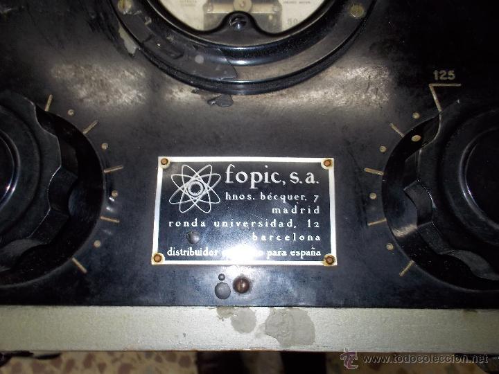Radios antiguas: Voltimetro ? - Foto 4 - 54369688