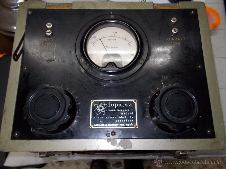 Radios antiguas: Voltimetro ? - Foto 6 - 54369688