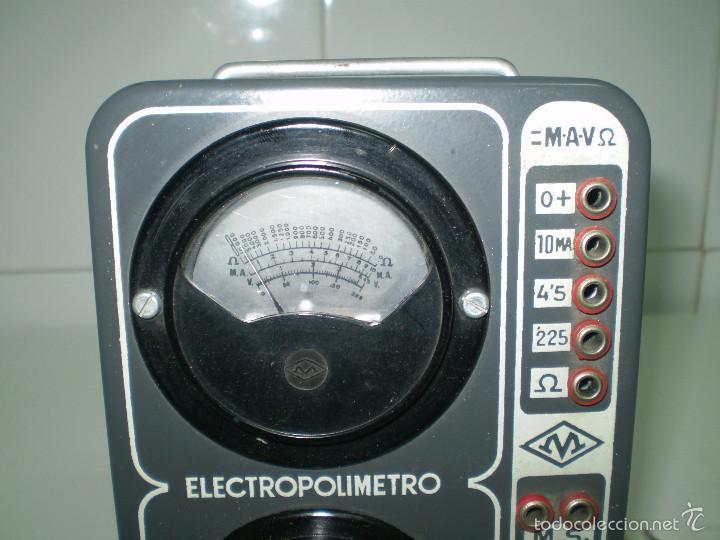 ANTIGUO TEXTER ELECTRO POLIMETRO DEL CURSO DE RADIO MAYMO. (Radios - Aparatos de Reparación y Comprobación de Radios)