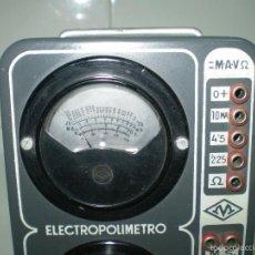 Radios antiguas: ANTIGUO TEXTER ELECTRO POLIMETRO DEL CURSO DE RADIO MAYMO.. Lote 56831941