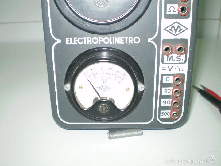Radios antiguas: ANTIGUO TEXTER ELECTRO POLIMETRO DEL CURSO DE RADIO MAYMO. - Foto 2 - 56831941