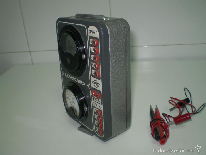 Radios antiguas: ANTIGUO TEXTER ELECTRO POLIMETRO DEL CURSO DE RADIO MAYMO. - Foto 3 - 56831941