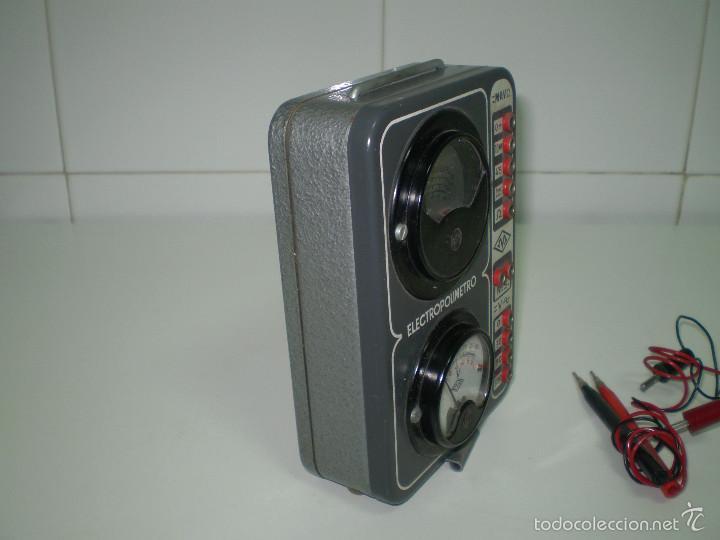 Radios antiguas: ANTIGUO TEXTER ELECTRO POLIMETRO DEL CURSO DE RADIO MAYMO. - Foto 4 - 56831941
