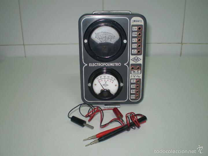 Radios antiguas: ANTIGUO TEXTER ELECTRO POLIMETRO DEL CURSO DE RADIO MAYMO. - Foto 8 - 56831941