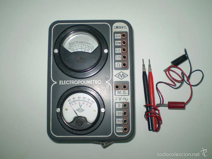 Radios antiguas: ANTIGUO TEXTER ELECTRO POLIMETRO DEL CURSO DE RADIO MAYMO. - Foto 9 - 56831941