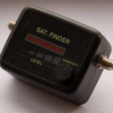 Radios antiguas: SAT FINDER, LOCALIZADOR DE SATELITES PARA EL CORRECTO APUNTALAMIENTO DE ANTENAS PARABOLICAS. Lote 58092961
