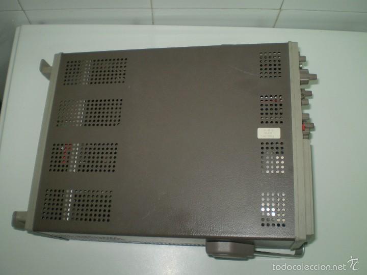 Radios antiguas: ESTUPENDO OSCILOSCOPIO HAMEG HM-303-3 DE 30MHz ¡¡¡FUNCIONA!!!!. - Foto 4 - 61163311