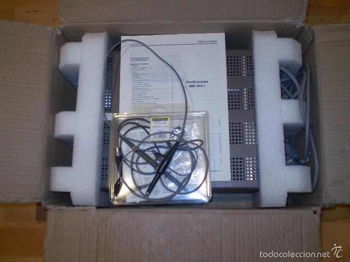 Radios antiguas: ESTUPENDO OSCILOSCOPIO HAMEG HM-303-3 DE 30MHz ¡¡¡FUNCIONA!!!!. - Foto 12 - 61163311