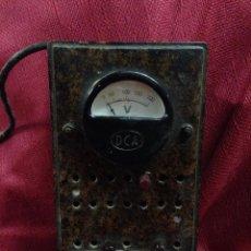 Radios antiguas: (P,C) ANTIGUO ELEVADOR REDUCTOR DE CORRIENTE DCA. Lote 62636216