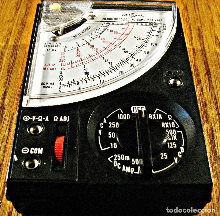 TESTER AFHA KIT R-03 POLIMETRO CURSO DE ELECTROTECNIA RADIO Y TV (Radios - Aparatos de Reparación y Comprobación de Radios)