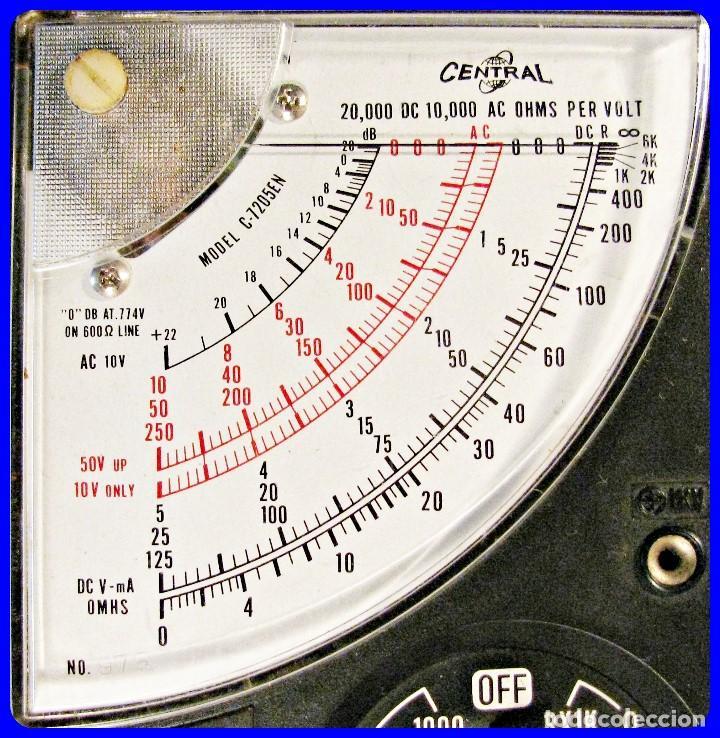 Radios antiguas: TESTER AFHA KIT R-03 POLIMETRO CURSO DE ELECTROTECNIA RADIO Y TV - Foto 2 - 146192802