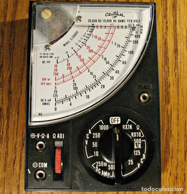 Radios antiguas: TESTER AFHA KIT R-03 POLIMETRO CURSO DE ELECTROTECNIA RADIO Y TV - Foto 3 - 146192802