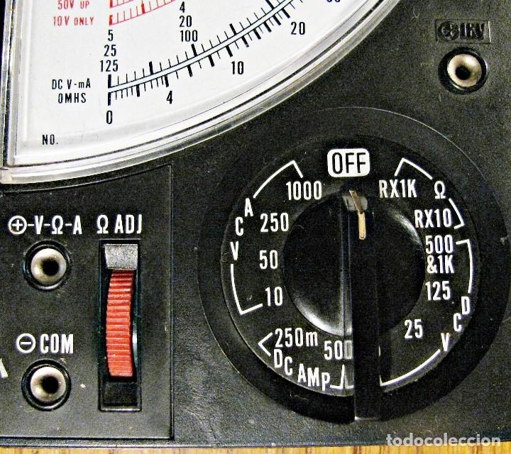Radios antiguas: TESTER AFHA KIT R-03 POLIMETRO CURSO DE ELECTROTECNIA RADIO Y TV - Foto 7 - 146192802
