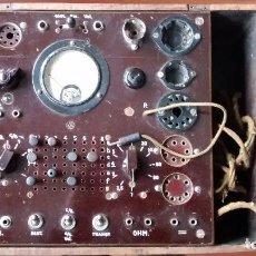 Radios antiguas: PROBADOR VÁLVULAS RADIO Y TELEVISIÓN. Lote 103582402