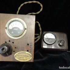 Radios antiguas: TRANSFORMADOR DE CORRIENTE LOTE 2 UDS. Lote 80712634