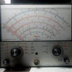 Radios antiguas: TÉSTER AMERICANO MARCA SIMPSON MODELO 313. BUENA CONSERVACIÓN Y ASPECTO. Lote 83172940