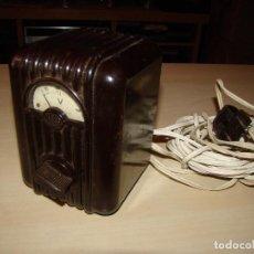 Radios antiguas: ANTIGUO VOLTIMETRO ALCER . Lote 85136244