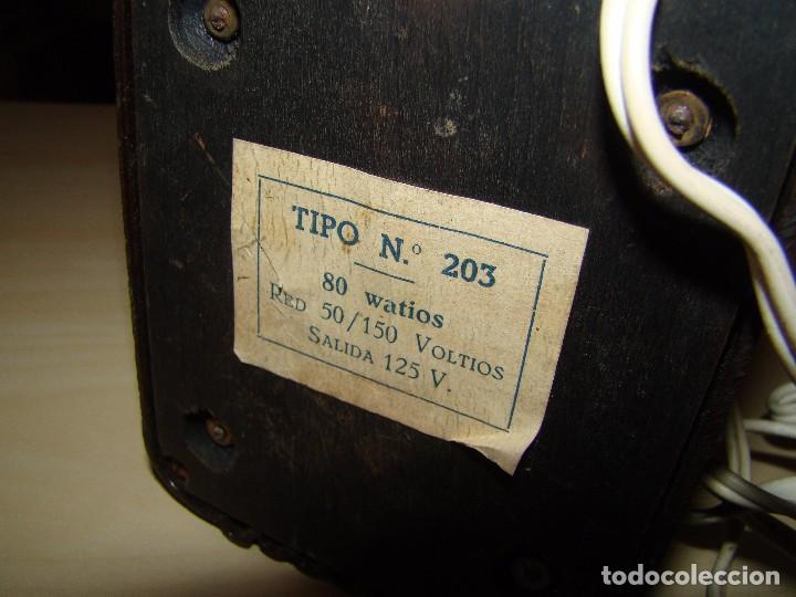 Radios antiguas: Antiguo voltimetro ALCER - Foto 3 - 85136244