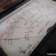 Radios antiguas: MULTIMETRO ANTIGUO MEDIDOR VOLTIMETRO AMPERIMETRO HEMPHILL SCHOOLS MADE IN JAPAN DECADA 70. Lote 89202156
