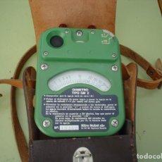 Radios antiguas: MEDIDOR DE RESISTENCIAS OHMETRO TIPO GH-2 . Lote 89691636