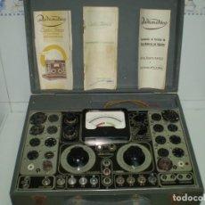 Radios antiguas: COMPROBADOR DE VALVULAS RADIOMETRICO AF-307/51-¡¡FUNCIONA!!!.. Lote 92016005