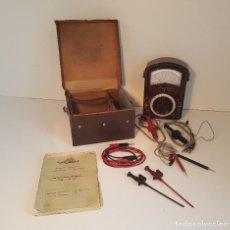 Radios antiguas: HANSEN MULTIMETRO ANTIGUO, MODELO MUY COMPLETO Y RARO. Lote 94636595