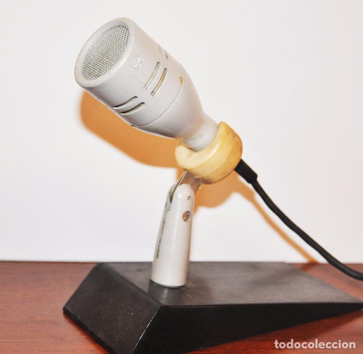 Radios antiguas: MICRÓFONO DE SOBREMESA DE FABRICACIÓN SOVIÉTICA MARCA OKTAVA 1979a CON SU CAJA ORIGINAL.URSS - Foto 5 - 96035060