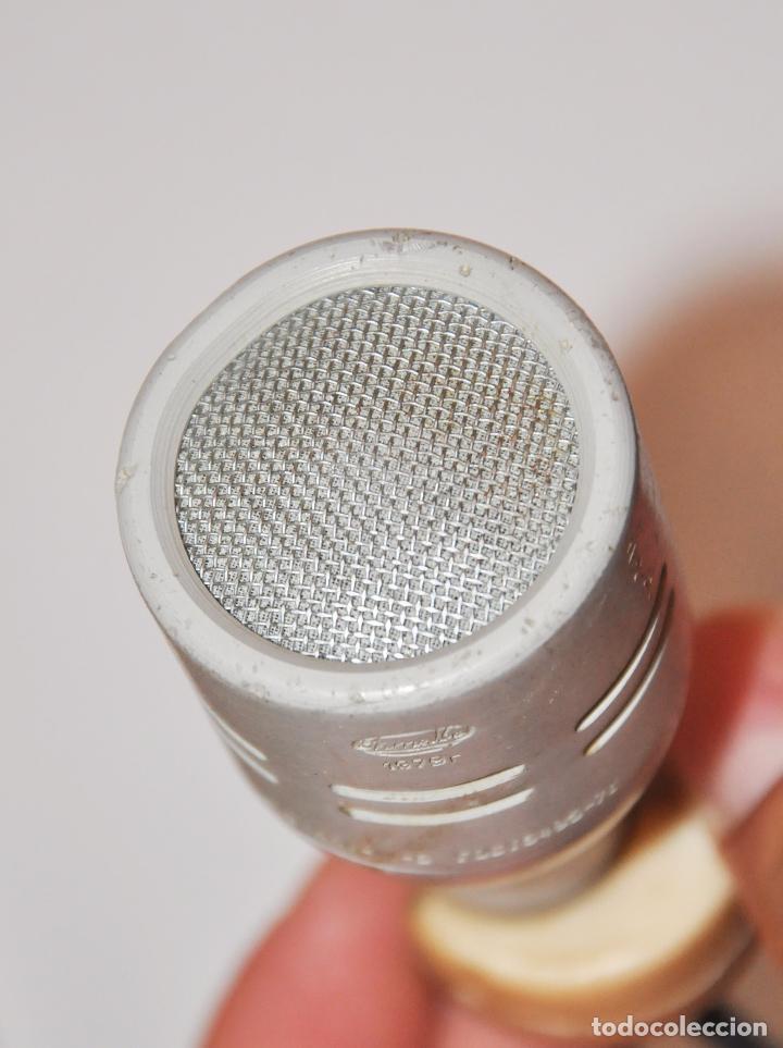 Radios antiguas: MICRÓFONO DE SOBREMESA DE FABRICACIÓN SOVIÉTICA MARCA OKTAVA 1979a CON SU CAJA ORIGINAL.URSS - Foto 8 - 96035060